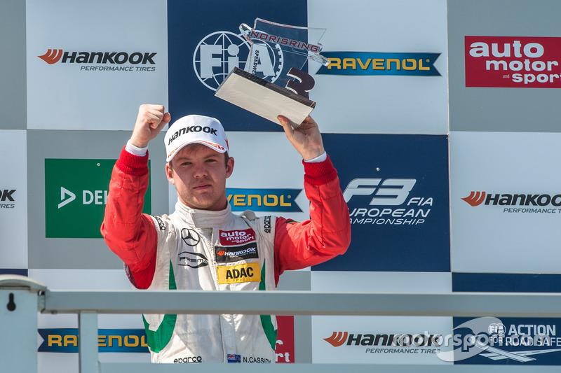 Podyum: Nick Cassidy, Prema Powerteam Dallara F312 - Mercedes-Benz