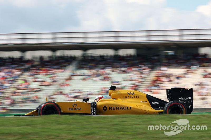 16. Kevin Magnussen, Renault Sport F1 Team RS16