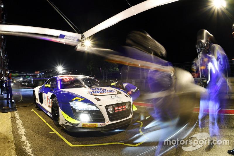 #27 Sainteloc Racing, Audi R8 LMS: Michael Blanchemain, Jean-Paul Buffin, Valentin Hasse-Clot, Gille