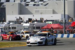 #21 Muehlner Motorsports America Porsche Cayman GT4: Bob Doyle, Jeroen Bleekemolen