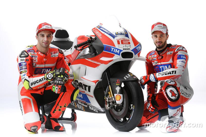 2016 - Andrea Iannone et Andrea Dovizioso