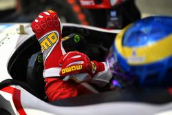 Handschuhe von Sébastien Bourdais, Dale Coyne Racing, Honda