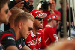 Sebastian Vettel, Ferrari at the fans autograph session