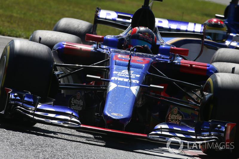 Daniil Kvyat, Scuderia Scuderia Toro Rosso STR12