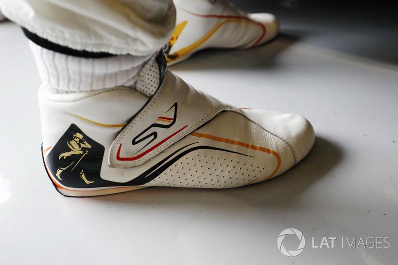 Взуття Стоффеля Вандорна, McLaren