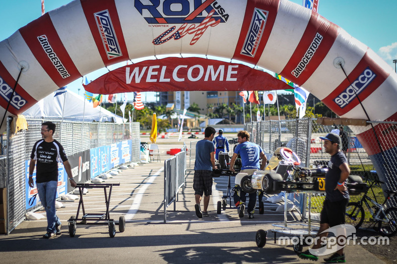 ROK Cup action