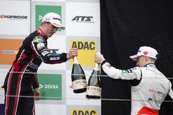Podium: Joel Eriksson, Motopark, Dallara F317 - Volkswagen and Jake Hughes, Hitech Grand Prix, Dallara F317 – Mercedes-Benz