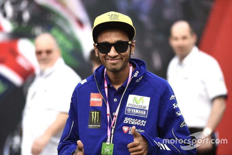 Un sosie qatari de Valentino Rossi