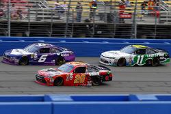 Erik Jones, Joe Gibbs Racing Toyota, Darrell Wallace Jr., Roush Fenway Racing Ford and Blake Koch, Kaulig Racing Chevrolet