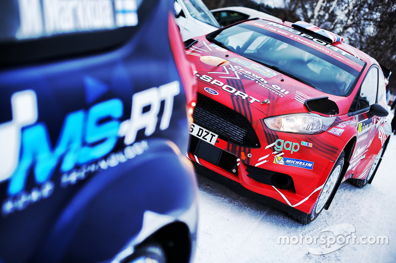 Gus Greensmith, Craig Parry, M-Sport Ford Fiesta R5