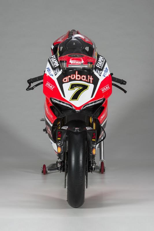 Bike von Chaz Davies, Ducati Team