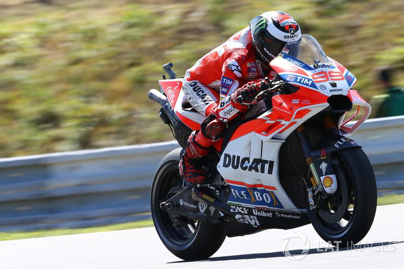 Хорхе Лоренсо, Ducati Team, aerodynamic fairing