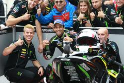 Ganador de la pole Johann Zarco, Monster Yamaha Tech 3