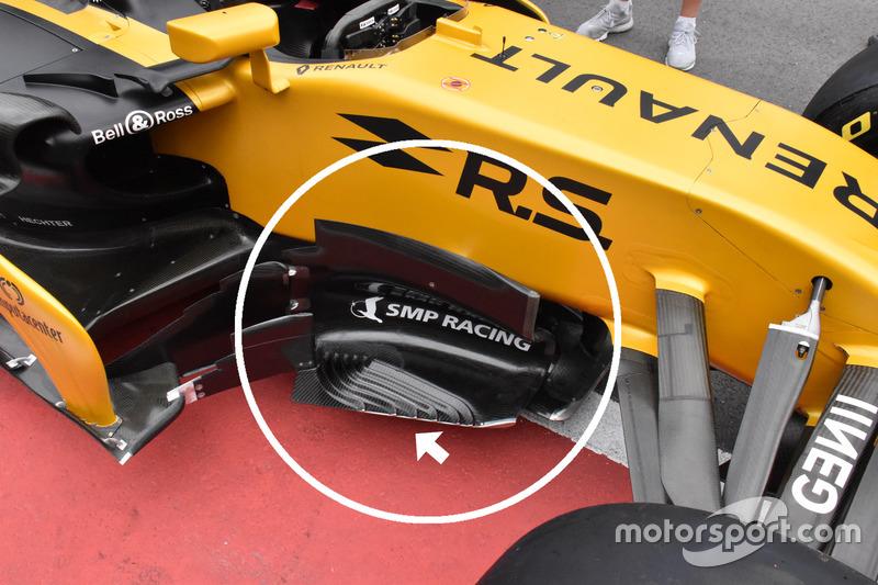 Дефлектор Renault RS17