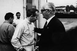 John Surtees und Enzo Ferrari