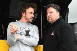 Fernando Alonso and Michael Andretti