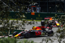 Max Verstappen, Red Bull Racing RB13 et Daniel Ricciardo, Red Bull Racing RB13