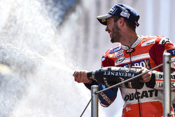 "dovizioso: back-to-back ducati wins ""not the reality"""