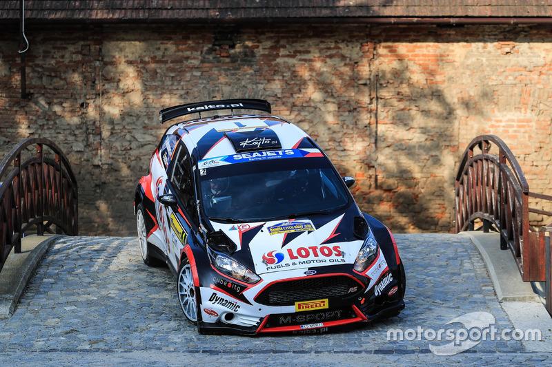 Rallye-EM (ERC): Lotos Rally Team, Ford Fiesta R5