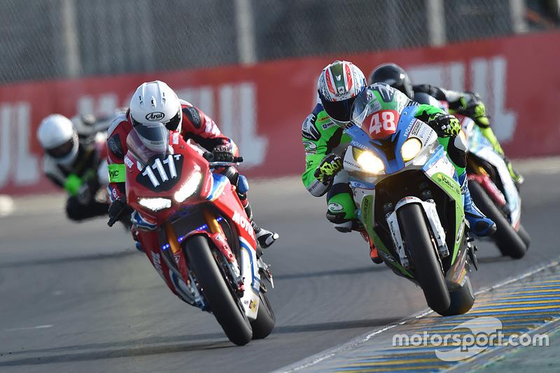 #111 Honda: Julien da Costa; #48 BMW: Jan Bühn