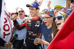Ganador, Thierry Neuville, Hyundai Motorsport