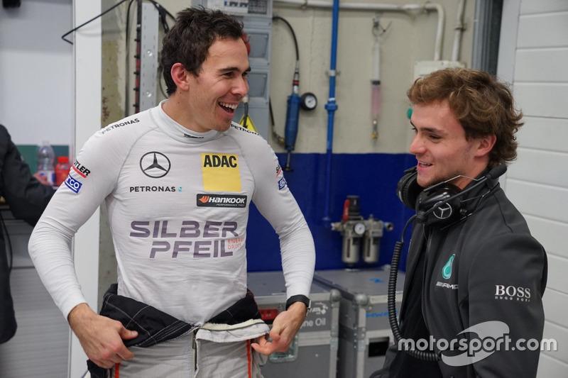 Robert Wickens Y Lucas Auer,Mercedes-AMG C63 DTM