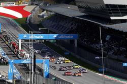 Start zum Rennen 1 der DTM 2017 am Spielberg-Wochenende