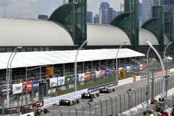Will Power, Team Penske Chevrolet, JR Hildebrand, Ed Carpenter Racing Chevrolet, Helio Castroneves, Team Penske Chevrolet
