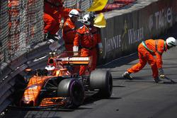 Авария: Стоффель Вандорн, McLaren MCL32