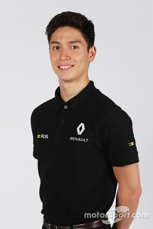 Jack Aitken, Renault-Juniorprogramm