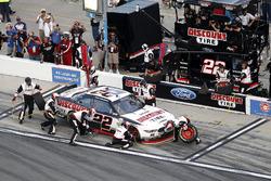 Pit stop, Brad Keselowski, Team Penske Ford