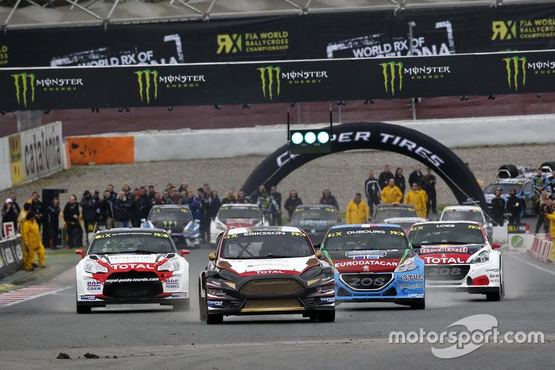 Kevin Eriksson, MJP Racing Team Austria, Ford Fiesta ST leads