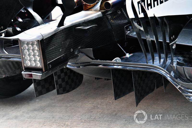 Дифузор Mercedes AMG F1 F1 W08