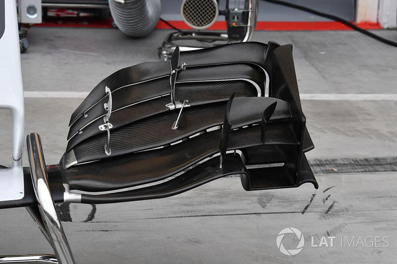 Переднє антикрило Haas VF-17