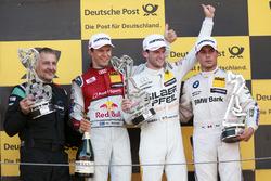 Podium: 1. Maro Engel, Mercedes-AMG Team HWA, Mercedes-AMG C63 DTM; 2. Mattias Ekström, Audi Sport Team Abt Sportsline, Audi A5 DTM; 3. Bruno Spengler, BMW Team RBM, BMW M4 DTM