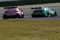 Lucas Auer, Mercedes-AMG Team HWA, Mercedes-AMG C63 DTM; Loic Duval, Audi Sport Team Phoenix, Audi RS 5 DTM
