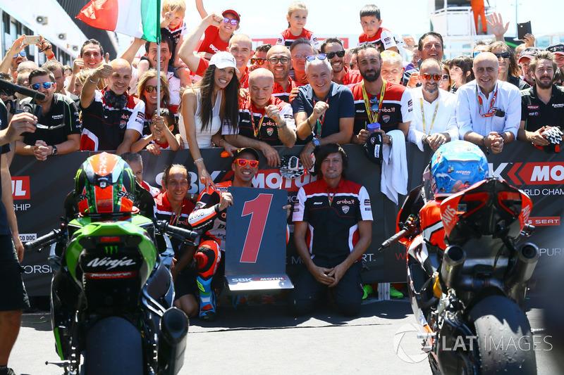 Race winner Marco Melandri, Ducati Team