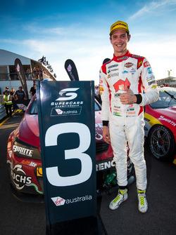 Third place Nick Percat, Brad Jones Racing Holden
