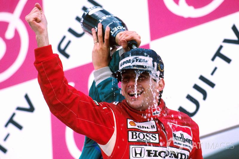 1988: 1. Ayrton Senna, 2. Alain Prost, 3. Thierry Boutsen
