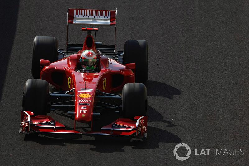 2009: Giancarlo Fisichella, Ferrari F60