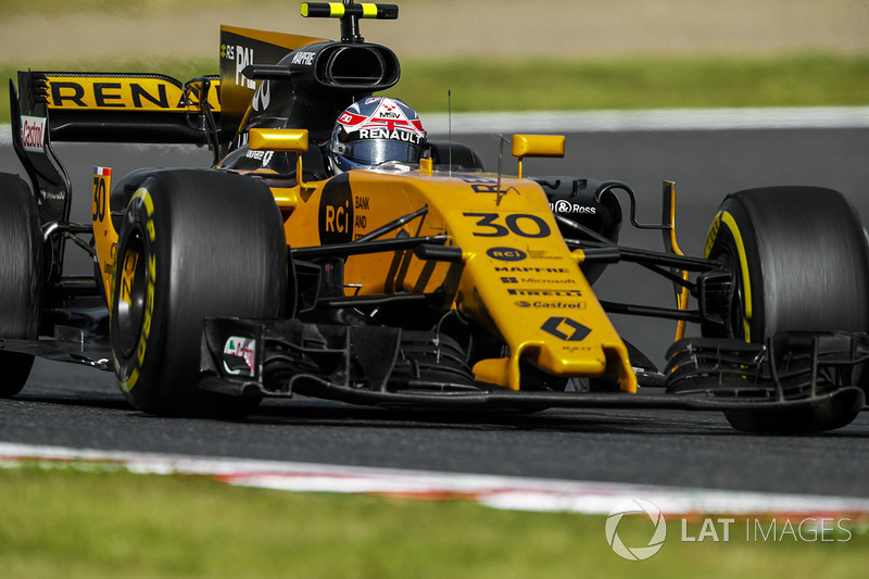 18 місце — Джоліон Палмер, Renault — 8