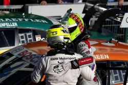 Sieger Jamie Green, Audi Sport Team Rosberg, Audi RS 5 DTM und Timo Glock, BMW Team RMG, BMW M4 DTM