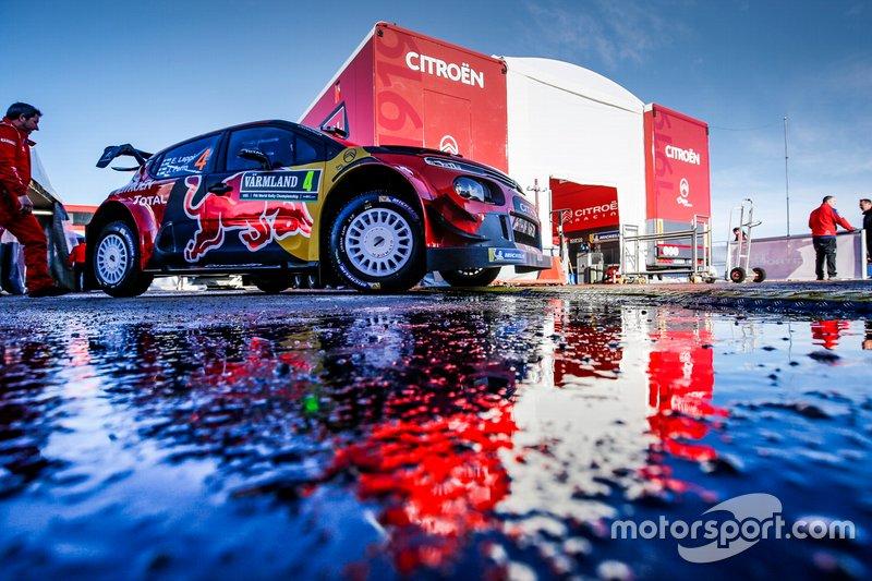 Есапекка Лаппі, Янне Ферм, Citroën C3 WRC, Citroën World Rally Team