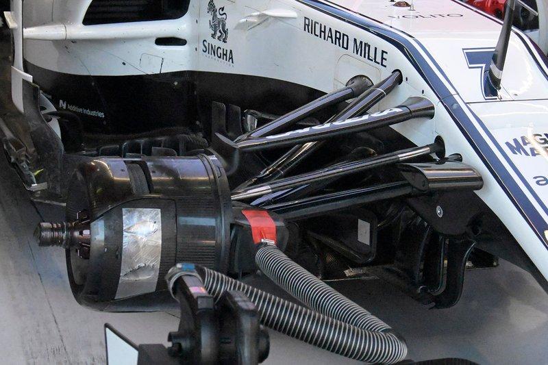 Alfa Romeo Racing C38 detalle