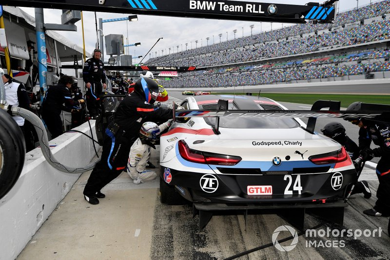 #24 BMW Team RLL BMW M8 GTE, GTLM: Єссе Крон, Джон Едвардс, Час Мостерт, Алекс Дзанарді