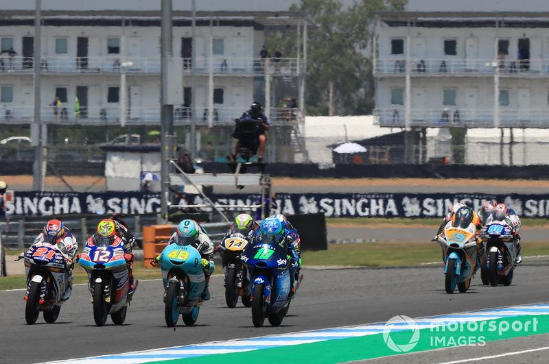 Fabio Di Giannantonio, Del Conca Gresini Racing Moto3, Marco Bezzecchi, Prustel GP, Lorenzo Dalla Porta, Leopard Racing