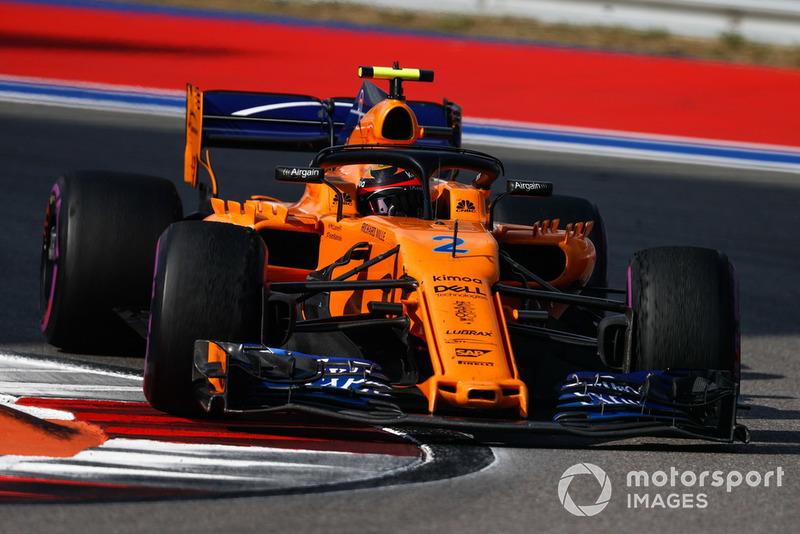 16. Стоффель Вандорн, McLaren — 8