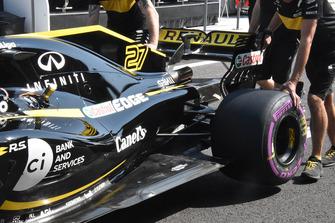 Renault Sport F1 Team R.S. 18, fondo e ala posteriore