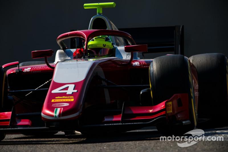 Em 2019, Schumacher competirá na F2 pela forte equipe Prema.