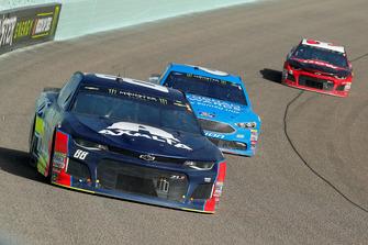 Alex Bowman, Hendrick Motorsports, Chevrolet Camaro Axalta e Matt Kenseth, Roush Fenway Racing, Ford Fusion Wyndham Rewards